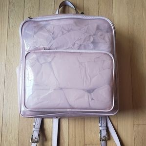 NWT!! Pink Translucent Vince Camuto Backpack